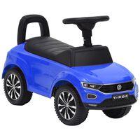 vidaXL Παιδικό Αυτοκίνητο Περπατούρα Volkswagen T-Roc Μπλε