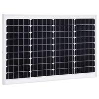 vidaXL Ηλιακό Πάνελ Μονοκρυσταλλικό 40 W Αλουμίνιο / Γυαλί Ασφαλείας