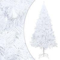 vidaXL Χριστουγεννιάτικο Δέντρο με Πλούσια Κλαδιά Λευκό 150 εκ. PVC
