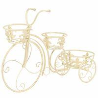 vidaXL Βάση Γλάστρας Ποδήλατο Vintage Μεταλλική