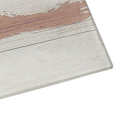 vidaXL Πίνακας Επιτοίχιος Μαγνητικός 60 x 60 εκ. Γυάλινος