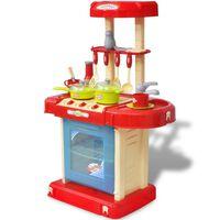Κουζίνα Παιδική Παιχνίδι με Εφέ Φωτισμού/Ήχου