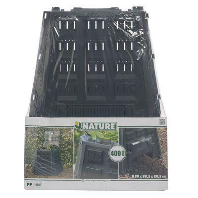 Nature Κάδος Κομποστοποίησης 6071480 Μαύρος 400 Λίτρων