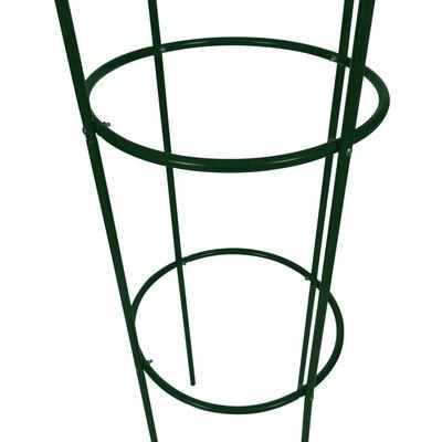 vidaXL Αψίδα Κήπου/Στήριγμα για Αναρριχώμενα Φυτά Σχήμα Πύργου 2 τεμ.