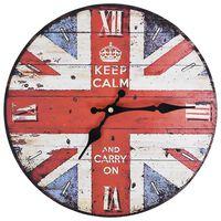 vidaXL Ρολόι Τοίχου Vintage Ηνωμένο Βασίλειο 30 εκ.