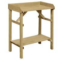 vidaXL Τραπέζι για Γλάστρες 75 x 40 x 90 εκ. Εμποτισμένο Ξύλο Πεύκου