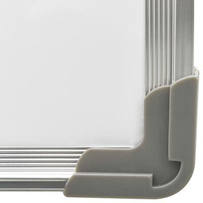 vidaXL Ασπροπίνακας Ξηρού Καθαρισμού Μαγνητικός 60x40 εκ. Ατσάλι