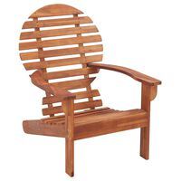 vidaXL Καρέκλα Adirondack από Μασίφ Ξύλο Ακακίας