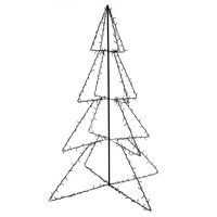 vidaXL Δέντρο από Φωτάκια 240 LED Εσωτερ./Εξωτερ. Χώρου 115x150 εκ.