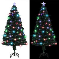 vidaXL Χριστουγεννιάτικο Δέντρο Τεχνητό 170 Κλαδιά 150 εκ. με Βάση/LED
