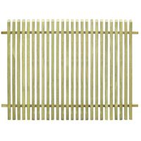 vidaXL Φράχτης Κήπου 170 x 125 εκ. από Εμποτισμένο Ξύλο Πεύκου