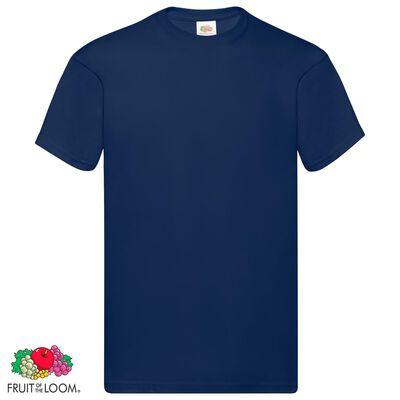Fruit of the Loom T-shirt Original 10 τεμ. Ναυτικό Μπλε M Βαμβακερά