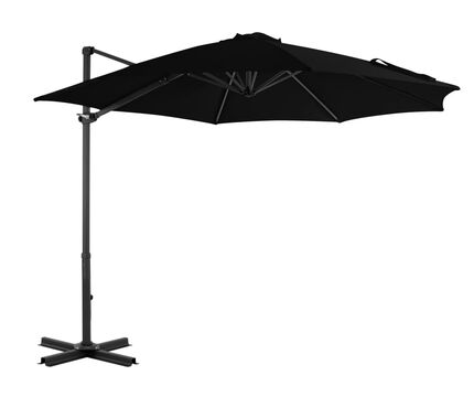 This elegant hanging parasol is perfect to create some shade and protect you from the sun's harmful UV rays.
